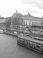 Musee D'Orsay on the Seine River, Paris