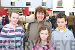 Aileen, Lorraine, Sheila and Brian Hanrahan Scartaglen enjoying a family day out at the Castleisland Horse fair on Saturday   Copyright Kerry's Eye 2008