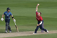 Matt Coles in bowling action for Essex during Essex Eagles vs Kent Spitfires, Royal London One-Day Cup Cricket at The Cloudfm County Ground on 6th June 2018