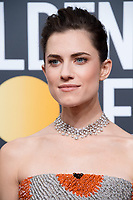 Allison Williams arrives at the 75th Annual Golden Globe Awards at the Beverly Hilton in Beverly Hills, CA on Sunday, January 7, 2018.<br /> *Editorial Use Only*<br /> CAP/PLF/HFPA<br /> &copy;HFPA/Capital Pictures