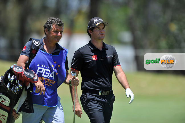 Ricardo Gouveia (POR) during the 3rd round of the Australian PGA Championship, Royal Pines Resort Golf Course, Benowa, Queensland, Australia. 01/12/2018<br /> Picture: Golffile | Anthony Powter<br /> <br /> <br /> All photo usage must carry mandatory copyright credit (© Golffile | Anthony Powter)