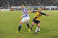 VOETBAL: SC HEERENVEEN: Abe Lenstra Stadion, 17-02-2012, SC-Heerenveen-NAC, Eredivisie, Eindstand 1-0, Viktor Elm, Anthony Lurling, ©foto: Martin de Jong