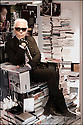 Karl Lagerfeld,<br /> cr&eacute;ateur de mode.