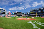 General view, SEPTEMBER 13, 2015 - MLB : Masahiro Tanaka of the New York Yankees pitches before the third inning during the Major League Baseball game against the Toronto Blue Jays at Yankee Stadium in the Bronx, New York, United States. (Photo by Hiroaki Yamaguchi/AFLO)