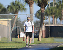 Ichiro Suzuki (Marlins),<br /> FEBRUARY 20, 2017 - MLB :<br /> Miami Marlins spring training baseball camp in Jupiter, Florida, United States. (Photo by AFLO)