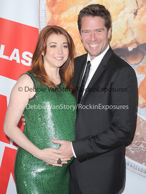 Alyson Hannigan and husband at The Universal Pictures' L.A. Premiere of American Reunion held at The Grauman's Chinese Theatre in Hollywood, California on March 19,2012                                                                               © 2012 Hollywood Press Agency