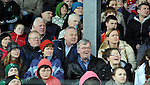 04-03-12:  Kerry football legend Paidi O'Se among the crowd as he watched his son Padraig O'Se captain the Pobal Scoil Chorcha Dhuibhne team to victory over De La Salle Macroom  in the  Munster Colleges Corn Uí Mhuiri Final  at Fitzgerald Stadium, Killarney on Sunday.   Picture: Eamonn Keogh (MacMonagle, Killarney)