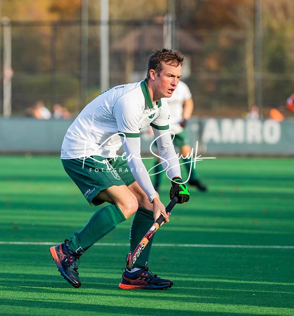 BLOEMENDAAL - Hugo Inglis (Rdam) tijdens  hoofdklasse competitiewedstrijd  heren , Bloemendaal-Rotterdam (1-1) .COPYRIGHT KOEN SUYK