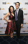 Georgia Stitt and Jason Robert Brown attends the cocktail party for the Dramatists Guild Foundation 2018 dgf: gala at the Manhattan Center Ballroom on November 12, 2018 in New York City.
