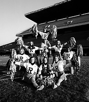 Ottawa Rough Riders Cheerleaders 1975. Photo F. Scott Grant