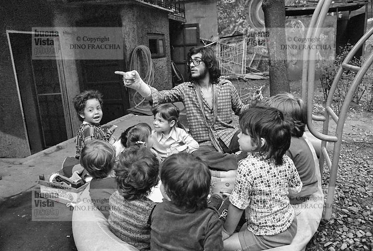 - self-managed popular kindergarten in the Isola district  (Milan, 1976)....- asilo nido popolare autogestito nel quartiere Isola  (Milano,1976)