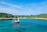 Spain, Mallorca, Cala Mondrago: Bay in the South-East | Spanien, Mallorca, Cala Mondrago: Bucht im Suedosten der Insel