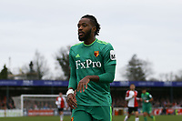 Nathaniel Chalobah of Watford during Woking vs Watford, Emirates FA Cup Football at The Laithwaite Community Stadium on 6th January 2019