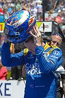 Verizon IndyCar Series<br /> Indianapolis 500 Carb Day<br /> Indianapolis Motor Speedway, Indianapolis, IN USA<br /> Friday 26 May 2017<br /> Scott Dixon, Chip Ganassi Racing Teams Honda<br /> World Copyright: F. Peirce Williams