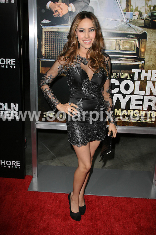 **ALL ROUND PICTURES FROM SOLARPIX.COM**                                             **SYNDICATION RIGHTS FOR UK, AUSTRALIA, DENMARK, PORTUGAL, S. AFRICA, SPAIN & DUBAI (U.A.E) & ASIA (EXCLUDING JAPAN) ONLY**                                                                                  Caption: Arrivals at the Los Angeles Premiere of - The Lincoln Lawyer, held at the ArcLight Theatre, Hollywood, CA, USA. 10 March 2011                                                                              This pic: Yari De Leon                                                                                  JOB REF: 12950 PHZ Evans      DATE: 10_03_2011                                                            **MUST CREDIT SOLARPIX.COM OR DOUBLE FEE WILL BE CHARGED**                                                                      **MUST AGREE FEE BEFORE ONLINE USAGE**                               **CALL US ON: +34 952 811 768 or LOW RATE FROM UK 0844 617 7637**