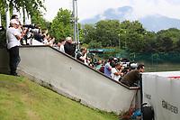 Medienvertreter beobachten das Training der Nationalmannschaft - 24.05.2018: Training der Deutschen Nationalmannschaft zur WM-Vorbereitung in der Sportzone Rungg in Eppan/Südtirol