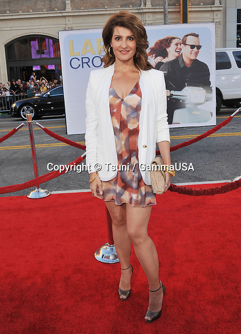 Nia Vardallos  arriving at the Larry Crowne Premiere at the Chinese Theatre In Los Angeles.
