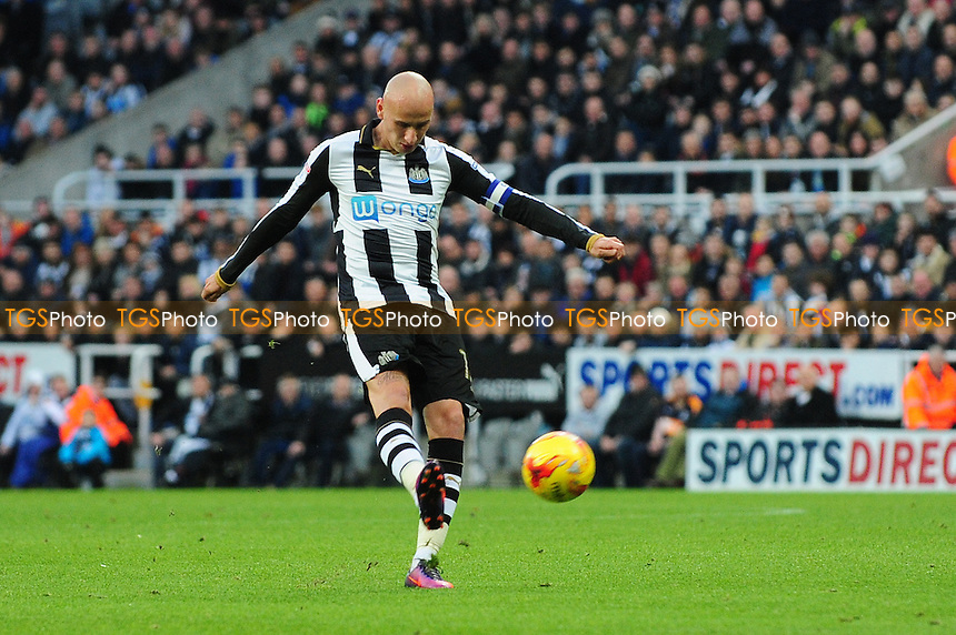 Jonjo Shelvey of Newcastle United during Newcastle United vs Blackburn Rovers, Sky Bet EFL Championship Football at St. James' Park on 26th November 2016