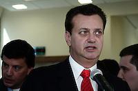 SÃO PAULO, 24 de AGOSTO, 2012 - INAUGURAÇÃO NOVO CENTRO MÉDICO SANTA ISABEL - O prefeito Gilberto Kassab participa da Cerimônia de inauguração do Novo Centro Médico do Hospital Santa Isabel, na manhã de 24, zona central da capital - FOTO LOLA OLIVEIRA - BRAZIL PHOTO PRESS