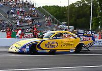 May 31, 2013; Englishtown, NJ, USA: NHRA funny car driver Matt Hagan during qualifying for the Summer Nationals at Raceway Park. Mandatory Credit: Mark J. Rebilas-