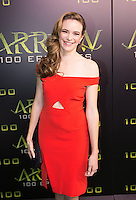 VANCOUVER, BC - OCTOBER 22: Danielle Panabaker at the 100th episode celebration for tv's Arrow at the Fairmont Pacific Rim Hotel in Vancouver, British Columbia on October 22, 2016. Credit: Michael Sean Lee/MediaPunch