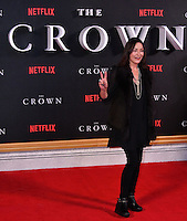 Amanda Donohoe<br /> Premiere of The Crown, a new Netflix TV series about the reign of Queen Elizabeth II, at Odeon Leicester Square, London, England November 01, 2016.<br /> CAP/JOR<br /> &copy;JOR/Capital Pictures /MediaPunch ***NORTH AND SOUTH AMERICAS ONLY***