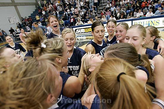 Brighton vs. Layton 5A girls high school State basketball Championships quarterfinals.&amp;#xA;2.24.2005<br />