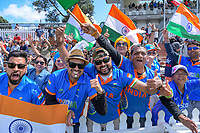 India fans during day three of the International Test Cricket match between the New Zealand Black Caps and India at the Basin Reserve in Wellington, New Zealand on Sunday, 23 February 2020. Photo: Dave Lintott / lintottphoto.co.nz