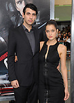 Nick Simmons and girlfriend at The Warner Bros. Pictures L.A. Premiere of Getaway held at The Regency Village Theater in Westwood, California on August 26,2013                                                                   Copyright 2013 Hollywood Press Agency