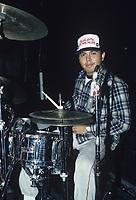 Suicidal Tendencies RJ Herrera performing at The Metro in Chicago, Illinois.<br /> Nov.27,1985<br /> CAP/MPI/GA<br /> &copy;GA//MPI/Capital Pictures