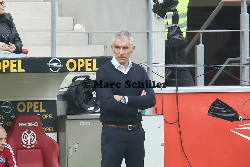 Trainer Mirko Slomka (HSV) - 1. FSV Mainz 05 vs. Hamburger SV, Coface Arena, 34. Spieltag