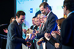 "Carlos Loret de Mola and Spanish king Felipe attends XXXIV International prizes of journalism ""Rey de Espana"" and the XIII edition of the prize ""Don Quijote"" of journalism in Madrid, Spain. March 27, 2017. (ALTERPHOTOS / Rodrigo Jimenez)"