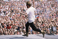 Torhout/Werchter Festival - Werchter - Belgium - 04/07/1993<br /> The Tragically Hip<br /> Gordon Downie<br /> Photo :KNIPS/DALLE