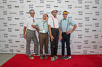 The Spazmatics attend the 10th Annual White Light White Night Charity Fundraiser Benefiting Walk With Sally at The Rooftop of the Plaza at Continental Park in El Segundo, CA on Saturday, July 23, 2016 (Photo by Inae Bloom/Guest of a Guest)