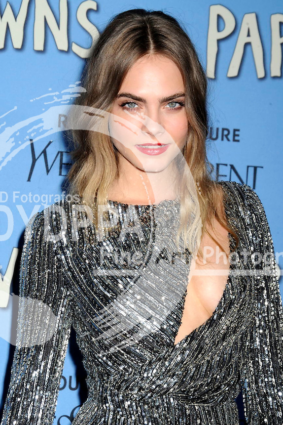 Cara Delevingne attending the 'Paper Towns' premiere at AMC Loews Lincoln Square on July 21, 2015 in New York Cit