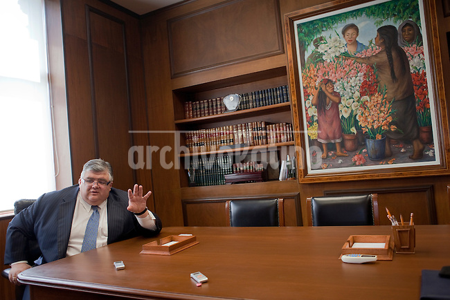 Agustin Carstens, director of Mexico Central Bank