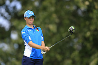 Emilie Alba Paltrinieri (Italy) during final day of the World Amateur Team Championships 2018, Carton House, Kildare, Ireland. 01/09/2018.<br /> Picture Fran Caffrey / Golffile.ie<br /> <br /> All photo usage must carry mandatory copyright credit (© Golffile | Fran Caffrey)