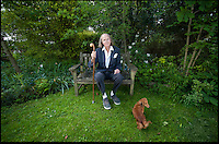 BNPS.co.uk (01202) 558833<br /> Picture: Peter Willows/BNPS<br /> <br /> English composer John Tavener pictured in May this year at his house in Child Okeford near Blandford in Dorset.<br /> <br /> The British Classical composer has died peacefully aged 69 at his home.