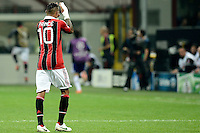 Football: Champions League, AC Mailand, Milan, 18.09.2012<br /> Kevin Prince Boateng<br /> &copy;&nbsp;pixathlon<br /> ITA AND FRA OUT !