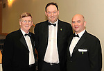 Donie Cassidy, Nially Flynn, Niall Flynn, Glasson Golf Hotel,  and Martin Cassidy, Cassidys Hotel, at the Irish Hotels Federation Conference Gala Dinner in The Malton Hotel, Killarney on Tuesday night. Picture: MacMonagle, Killarney.