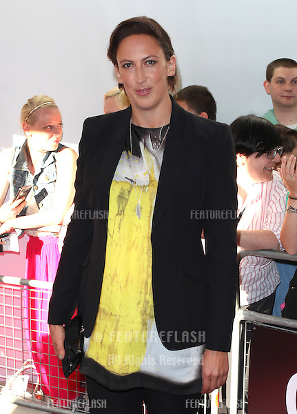 Miranda Hart arriving for the 013 Glamour Awards, Berkeley Square, London. 04/06/2013 Picture by: Alexandra Glen / Featureflash
