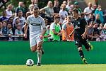 20.07.2019, Heinz-Dettmer-Stadion, Lohne, GER, Interwetten Cup, VfL Osnabrueck vs SV Werder Bremen<br /> <br /> im Bild<br /> Niklas Schmidt (VfL Osnabrueck #31), <br /> Benjamin Goller (Neuzugang Werder Bremen #39), <br /> <br /> Foto © nordphoto / Ewert
