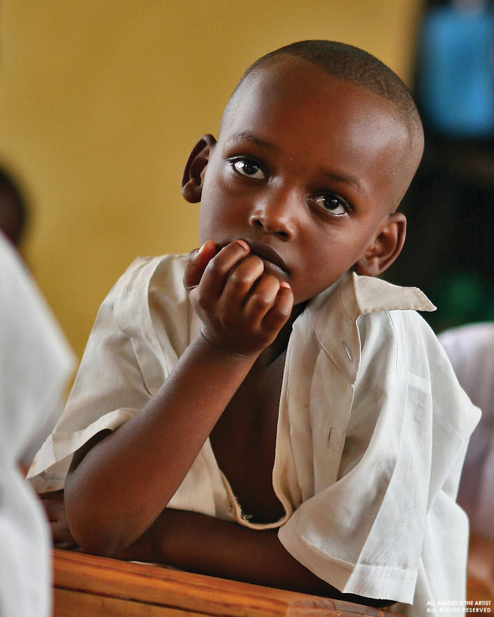 Orphan in Rwanda