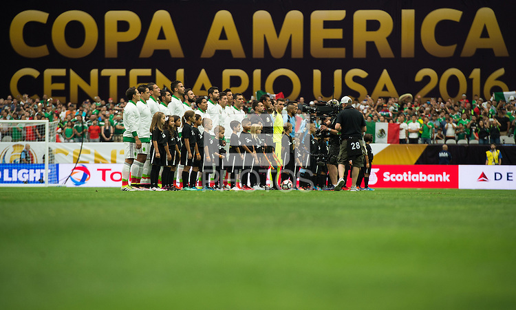 Action photo during the match Mexico vs Uruguay, Corresponding Group -C- America Cup Centenary 2016, at University of Phoenix Stadium<br /> <br /> Foto de accion durante el partido Mexico vs Uruguay, Correspondiante al Grupo -C-  de la Copa America Centenario USA 2016 en el Estadio de la Universidad de Phoenix, en la foto: Vista General<br /> <br /> <br /> 05/06/2016/MEXSPORT/Jorge Martinez.