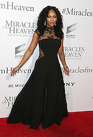 "09 March 2016 - Hollywood, California - Meagan Good. ""Miracles From Heaven"" Los Angeles Premiere held at ArcLight Hollywood. Photo Credit: Sammi/AdMedia"