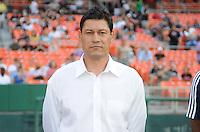 Chivas USA head coach Martin Vasquez.   DC United defeated Chivas USA 3-2 at RFK Stadium, Saturday  May 29, 2010.