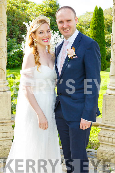 Sinead Rael, daughter of Dan and Kay, Oakview, Tralee, and Kem O'Keeffe, son of Eamon and Ann, Frankfield, Cork, who were married on Friday in St Brendan's Church, Clogher. Fr Leon O'Giollain officiated at the ceremony. Best man was John O'Brien and groomsmen were Brian Quilligan and Peter O'Keeffe. Bridesmaids were Julie Rael with Louise Rael and Pauline O'Connell. The reception was held in the Ballyseede Castle Hotel, Tralee and the couple will reside in Frankfield.