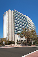 Ronald Reagan Federal Courthouse Building in Santa Ana California
