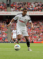 Pictured: Scott Sinclair of Swansea. Saturday 10 September 2011<br />