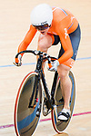 Laurine van Riessen of the Netherlands competes on Women's 500 TT Finals during the 2017 UCI Track Cycling World Championships on 15 April 2017, in Hong Kong Velodrome, Hong Kong, China. Photo by Marcio Rodrigo Machado / Power Sport Images